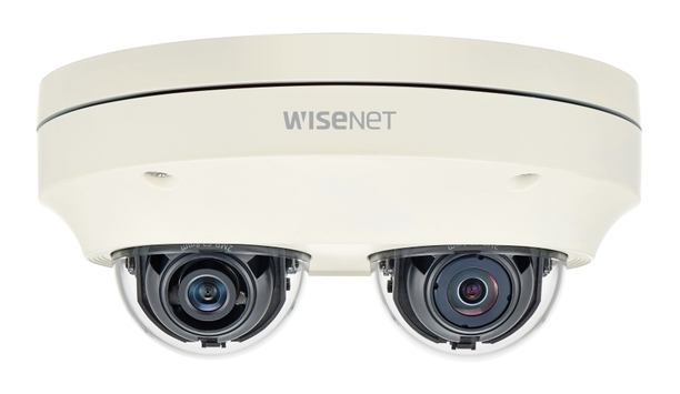 Hanwha Techwin introduces Wisenet P two-channel, multi-directional camera