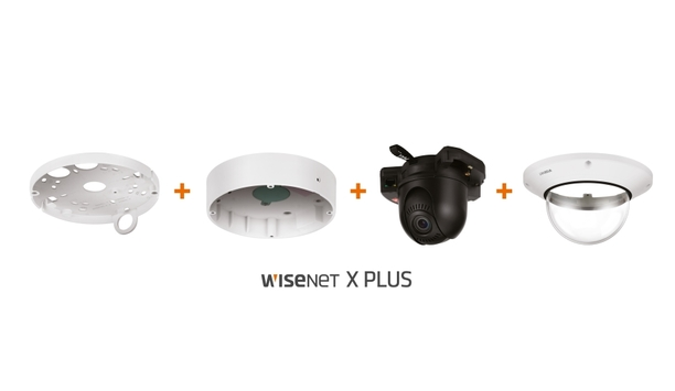Hanwha Techwin's Wisenet X Plus dome cameras reduce installation time