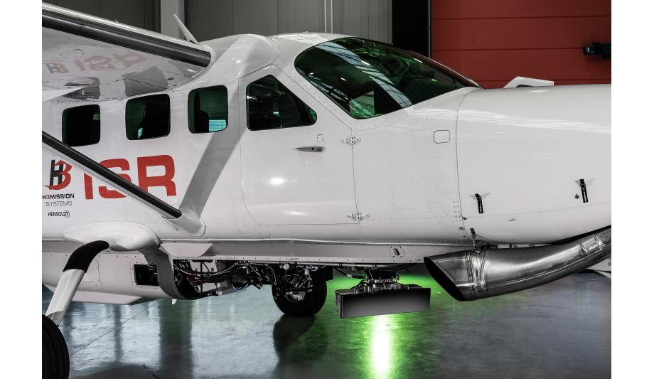 HENSOLDT's airborne multi-mission surveillance radar PrecISR™1000 completes first flight