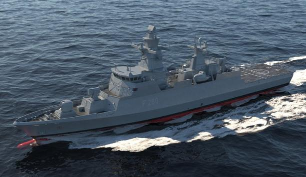 HENSOLDT modernises the TRS-3D radars of two K130-class corvettes of the German Navy