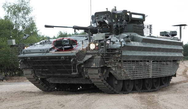 HENSOLDT carries out SETAS vision system demonstration with the British Army's Armoured Center
