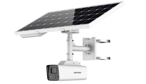 Hikvision 4G solar-powered security camera system takes standalone operation to new heights