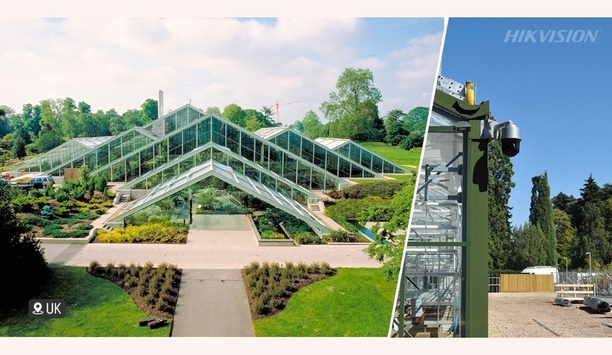 Hikvision's IP video surveillance system used to upgrade security at London's Kew Gardens