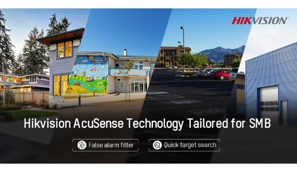 Hikvision's AcuSense Technology Enables Advanced Video Content Analysis And Deep Learning Capabilities For SMBs