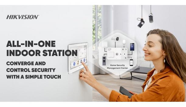 Hikvision brings All-in-one Indoor Station product for converging security solutions in homes and offices