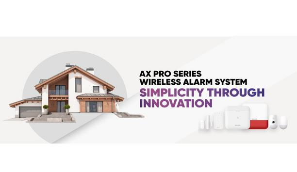 Hikvision launches AX PRO wireless alarm system a more reliable intrusion detection, with fewer false positives