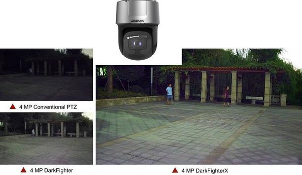 Hikvision announces DarkFighterX 4MP Network IR PTZ Camera for video surveillance