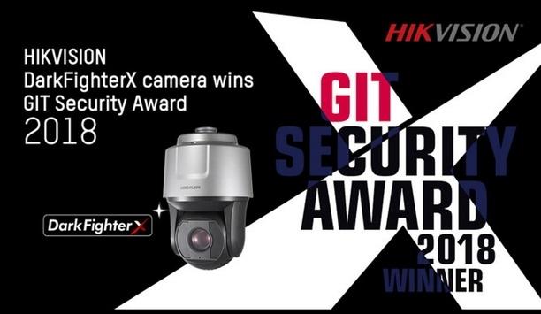 Hikvision's next-gen DarkFigtherX camera wins GIT Award 2018
