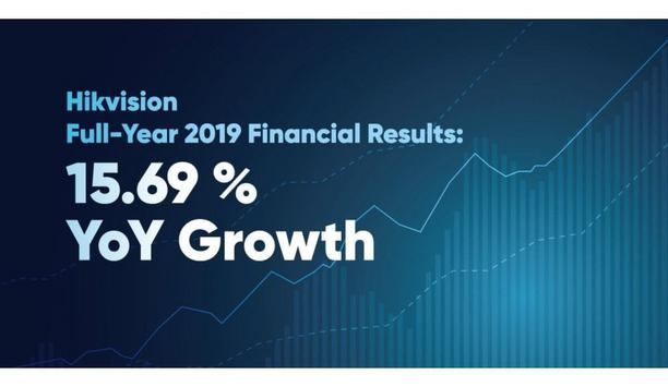 Hikvision releases its 2019 Annual Report showing growth of 15.69 % YoY
