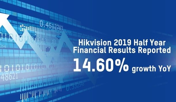 Hikvision releases its year-over-year (YoY) growth report for the first half of 2019