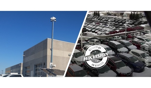 Hikvision's Dome Security Cameras And NVRs Secure Ontario Canada Hyundai Dealership