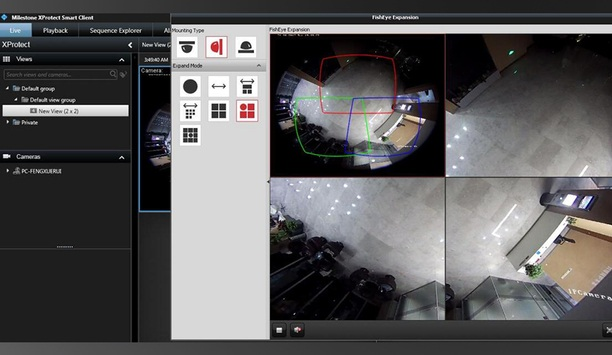 Hikvision releases Fisheye Dewarping Solution for Milestone XProtect customers