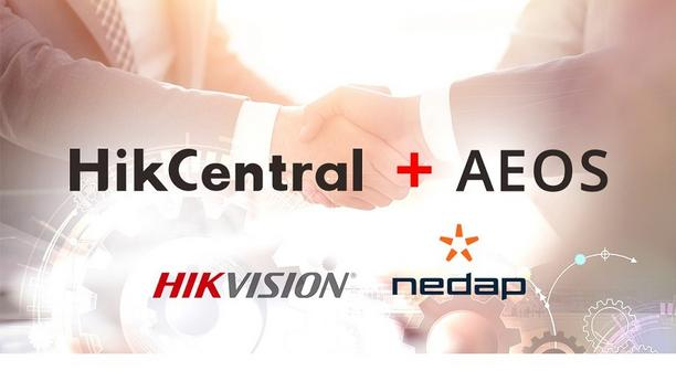 Hikvision announces the integration of HikCentral video security platform with Nedap AEOS Access Control Solution