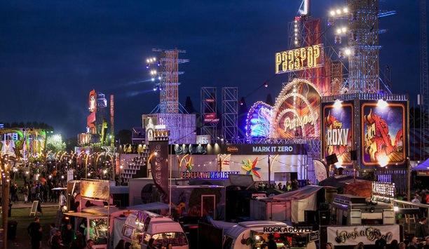 Hikvision high-end video cameras help keep music festival Paaspop safe