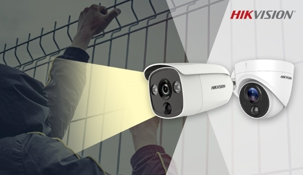 Hikvision's Turbo HD PIR Camera features alarm accuracy and improved detection capabilities