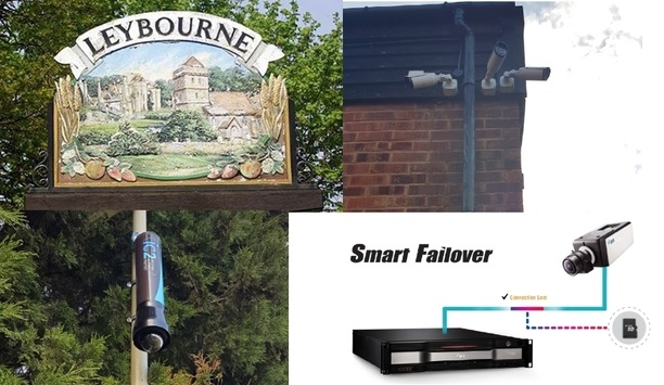 Historic Leybourne village in Kent secured with IDIS HD IP video surveillance system