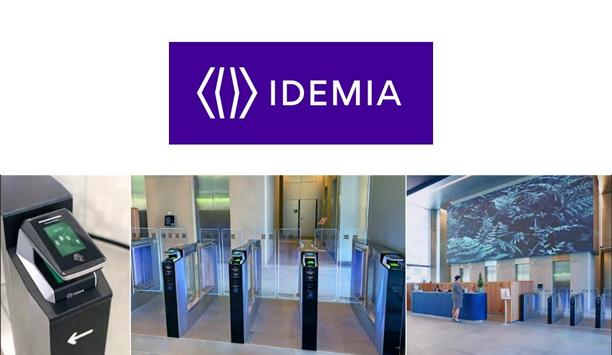 IDEMIA's MorphoWave™ Compact and COMINFO's EasyGate SPT deliver frictionless and secure access to employees
