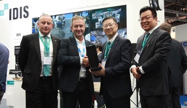 IDIS presents awards to partners SECOM, Johnson Controls and ISD Tech at IFSEC 2019