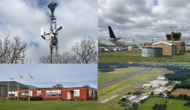 IDIS IP HD Video Surveillance System Secures Airfield And Popular TV Location In Surrey