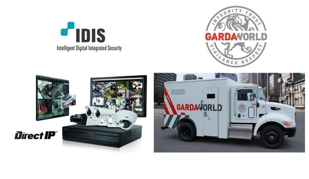 IDIS' video surveillance solutions ensure business security at GardaWorld