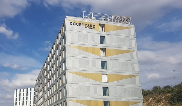 IDIS Secures Luton Airport's Courtyard By Marriott Hotel With Its Cybersecure Video Surveillance Technology