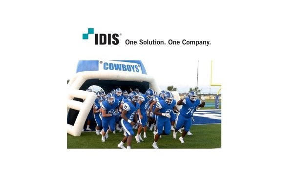 IDIS' SB-507 compliant video surveillance system protects students and staff at Edna ISD
