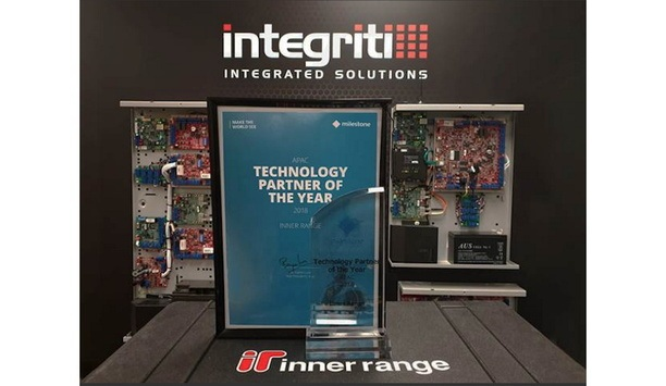 Inner Range receives recognition as the Milestone's APAC Technology Partner of the Year for 2018