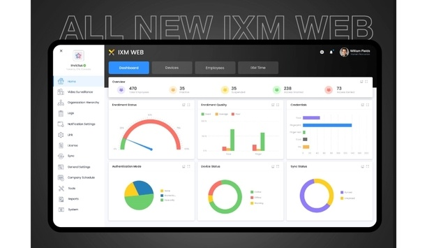 Invixium launches IXM WEB 2.1, an all-in-one platform for access control and workforce management
