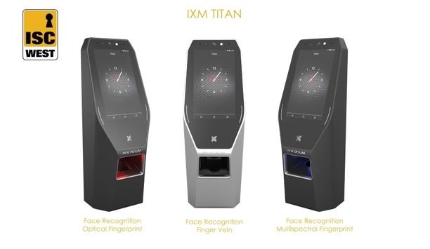 Invixium to exhibit IXM TITAN multimodal biometric solution at ISC West 2018
