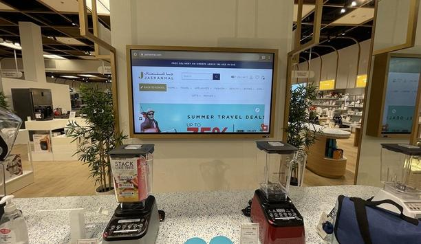 Jashanmal, a Middle East retailer attracts more customers with innovative LED and LCD displays from Hikvision