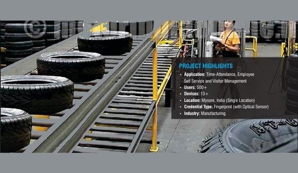 Matrix time-attendance solutions improve productivity at JK Tyre & Industries Mysore premises