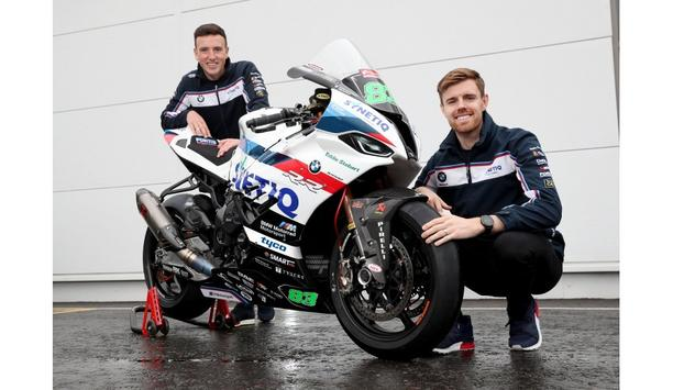 Tyco, security products brand of Johnson Controls, announces secondary sponsorship of the British Superbike Team, SYNETIQ BMW Motorrad