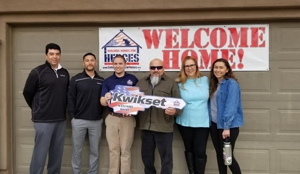 Kwikset and Building Homes for Heroes celebrate five years of partnership, support and cooperation
