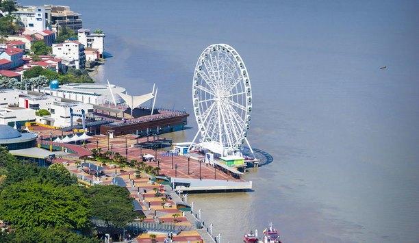 Boon Edam turnstiles ensure effective entry control for La Perla Ferris wheel