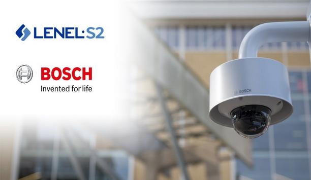 LenelS2 Announces Strategic Agreement With Bosch Building Technologies To Resell Bosch IP Cameras