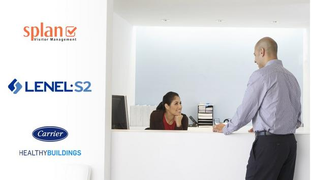 LenelS2 extends touchless visitor management experience
