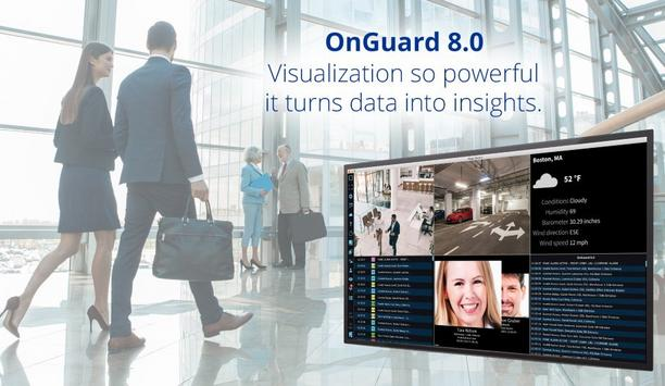 LenelS2 Unveils OnGuard Security Management System Version 8.0 That Offers Powerful Visualization For Data-based Insights