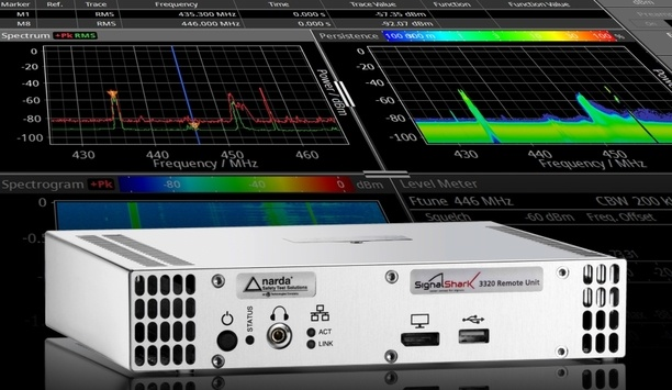 Link Microtek launches remote-controlled version of Narda Safety Test Solutions' SignalShark spectrum analyser