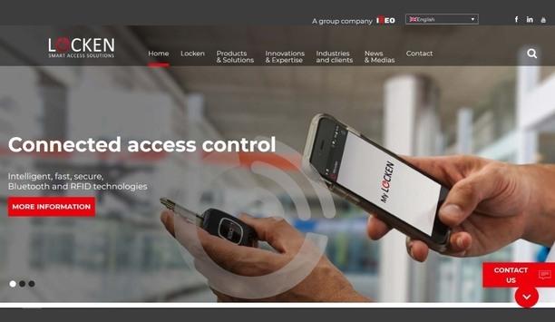 LOCKEN launches new website, showcasing expertise in autonomous access control