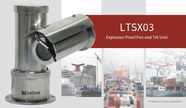 LonTrend announces launch of LTSX03 explosion-proof PTZ housing for monitoring critical infrastructure