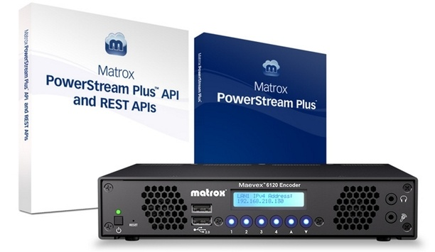 Matrox showcases Maevex 6120 dual 4K enterprise encoder at InfoComm 2018