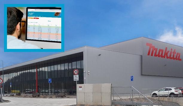 Makita Slovakia chooses ASSA ABLOY's Incedo™ platform solution to manage access for multiple door types