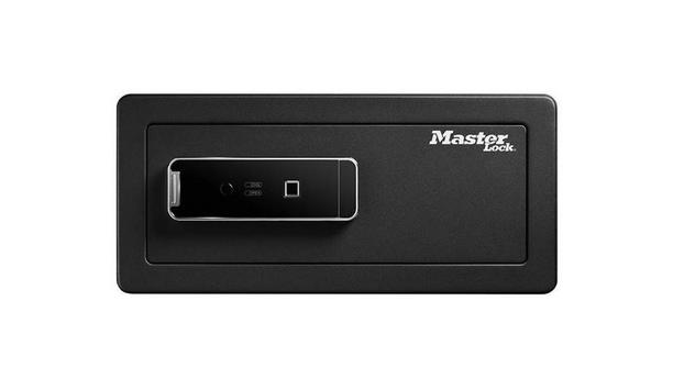 Master Lock launches biometric security safe to protect precious valuables and electronics against theft