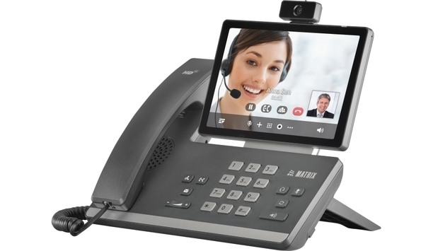Matrix Launches SPARSH VP710 A Smart Video IP Phone