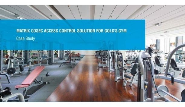 Matrix COSEC enhances member access control for Gold's Gym