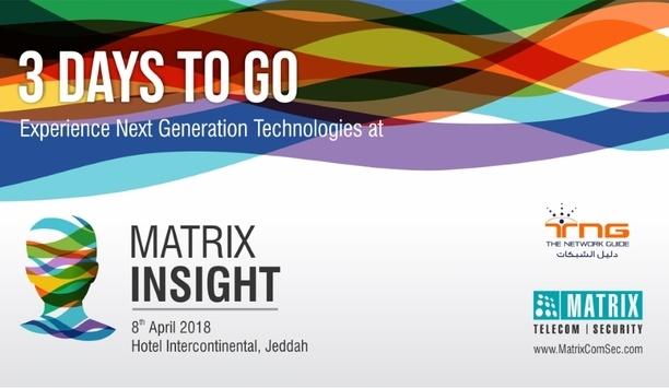 Matrix to exhibit telecom and security solutions at Matrix Insight 2018