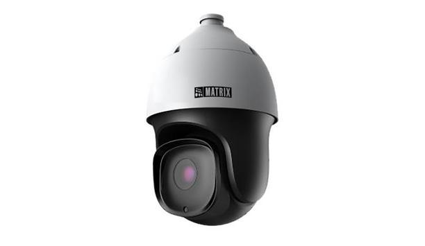 Matrix Comsec Announces The Launch PZCR20ML33CWP IP PTZ Camera Designed For All-Round Surveillance