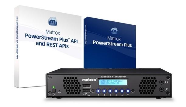 Matrox Graphics announces shipping of the Maevex 6120 dual 4K enterprise encoder appliance