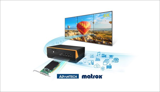 Advantech And Matrox Expand Relationship For Video Wall And Multi-Display Solutions