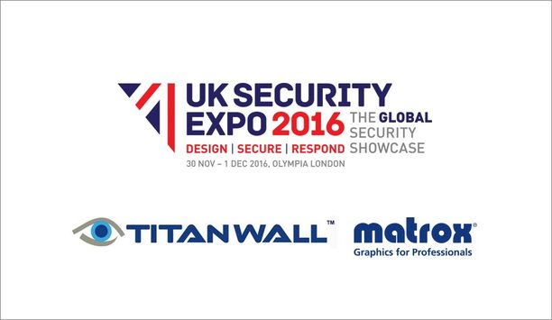 Matrox Graphics to display integration with TITAN WALL video wall system at UK Security Expo 2016